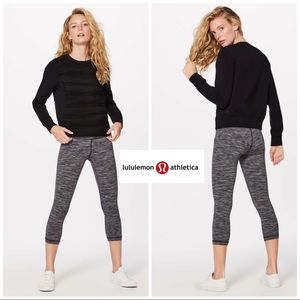 Lululemon Goose Down & Around Crew In Black